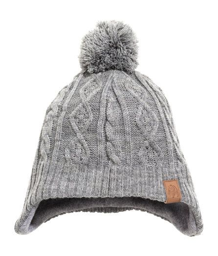 Soft knit hat with a pompom at top and earflaps. Fleece lining. - Visit  hm.com to see more. d82b9b926714