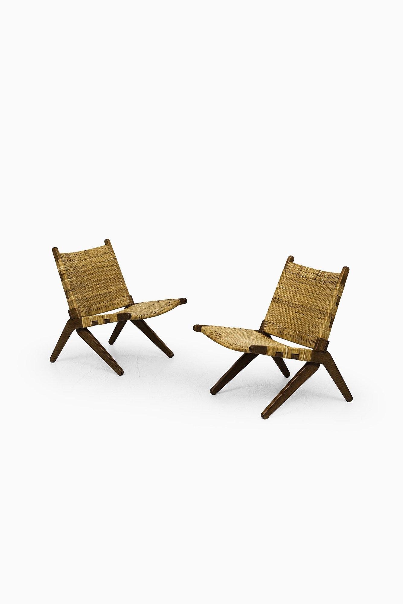 Arne Hovmand-Olsen easy chairs by Mogens Kold at Studio Schalling