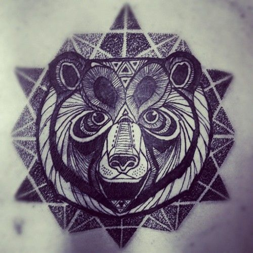 #bear #tattoo