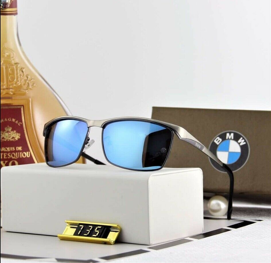 New Fashion 2019 BMW Brand Men/'s Sunglasses Polarized Classic UV400 Men Eyewear