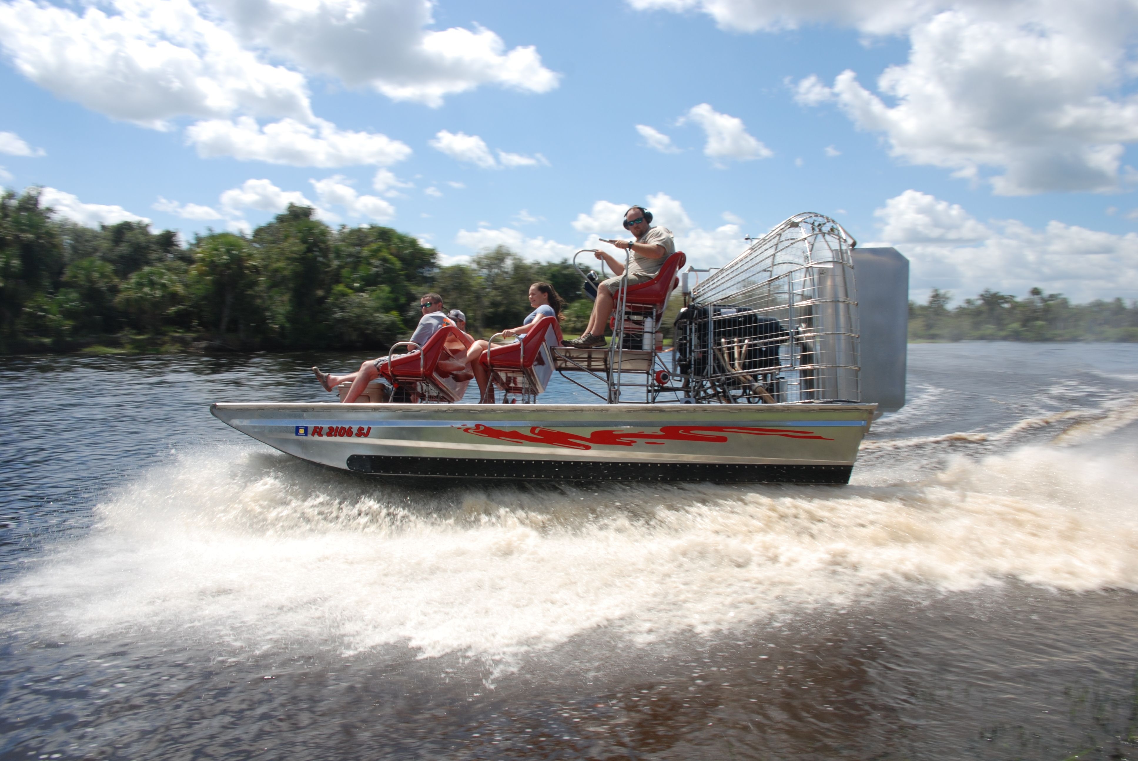 Peace River Airboat Tours Airboat, Peace river, Airboat