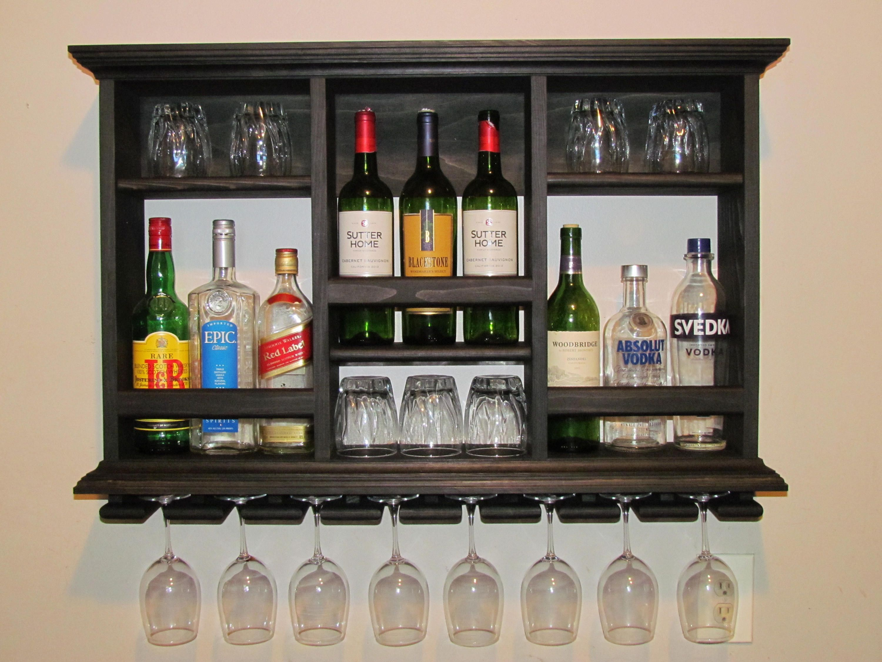 These Mini Bars Are Perfect For Storing Your Barware In A Small Space Great For Apartments Living Room Bar Cabinet Design Wall Mounted Bar Modern Bar Cabinet