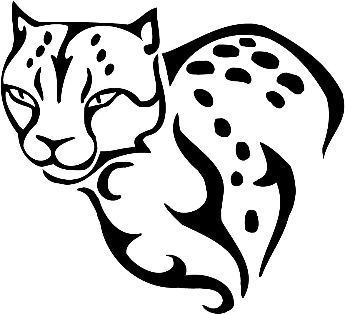 Big Cheetah Printable Pages For Kids