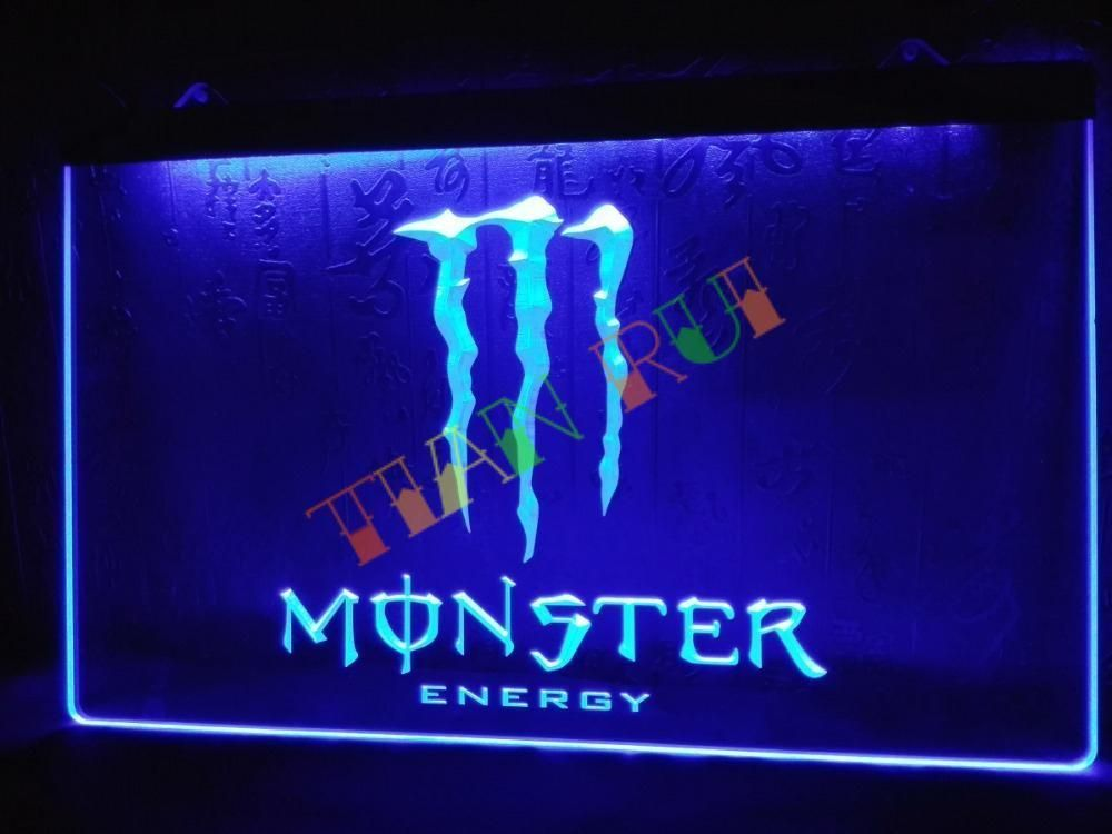 Led Sign Home Decor Prepossessing Energy Drink Led Neon Light Sign Home Decor Shop Crafts Design Inspiration