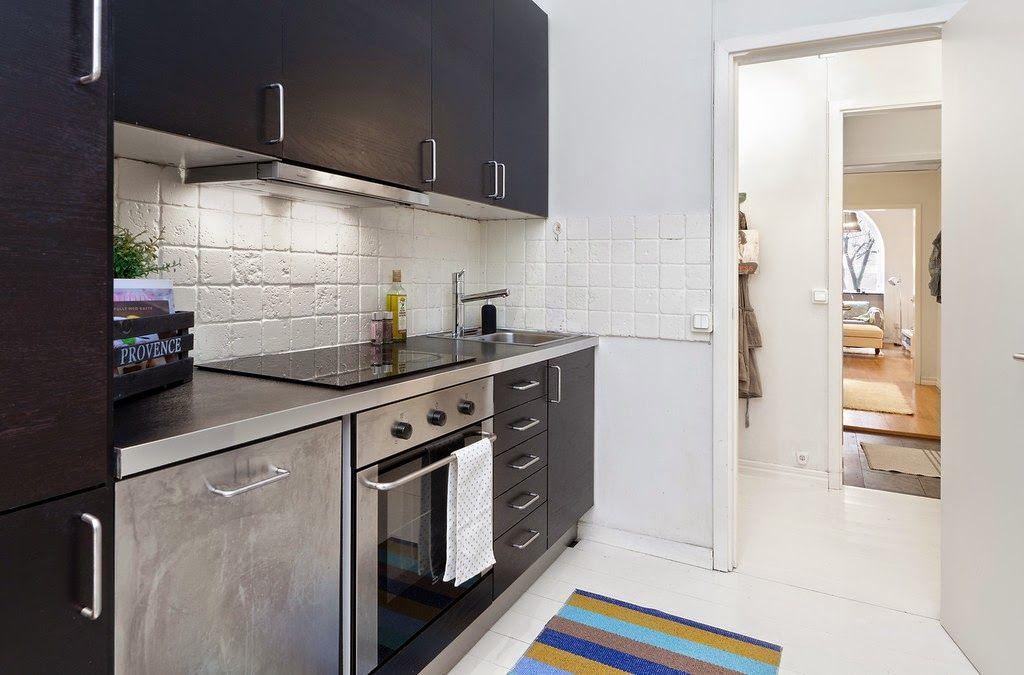 Jurnal de design interior - Amenajări interioare : 2 camere în 39 m²
