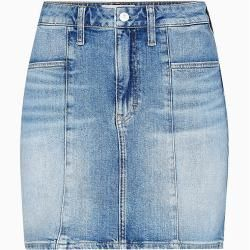Photo of Calvin Klein High Rise Denim-Minirock 29 Calvin Klein