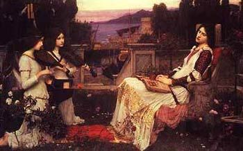 Saint Cecilia--Waterhouse