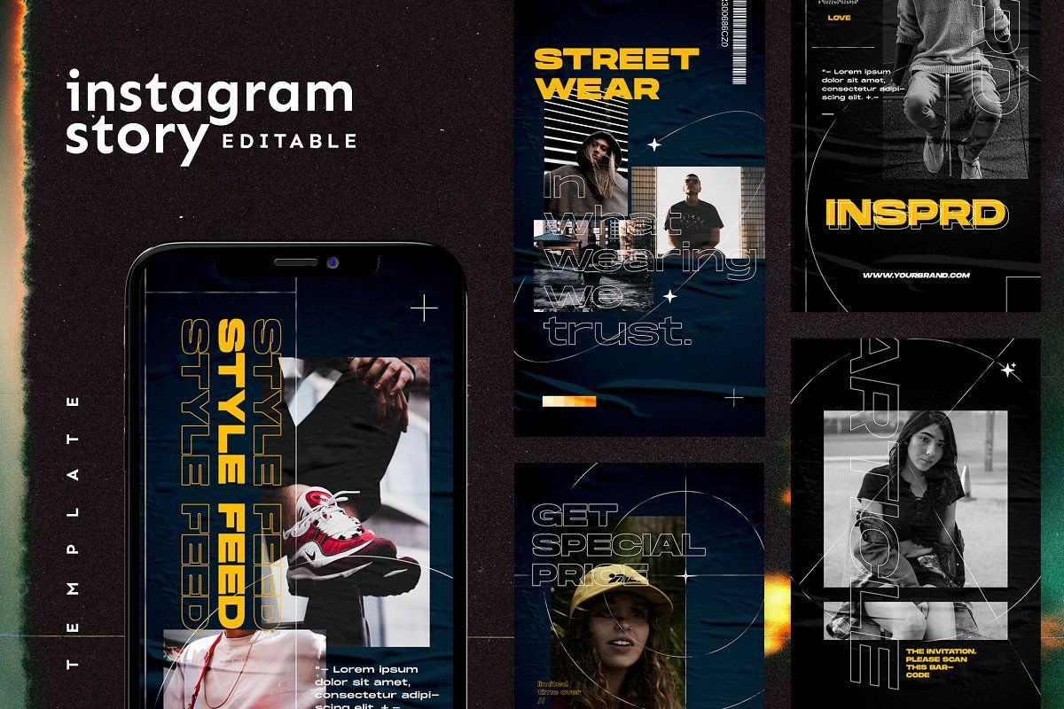 Photo of Instagram Story Template  Creative Instagram Templates