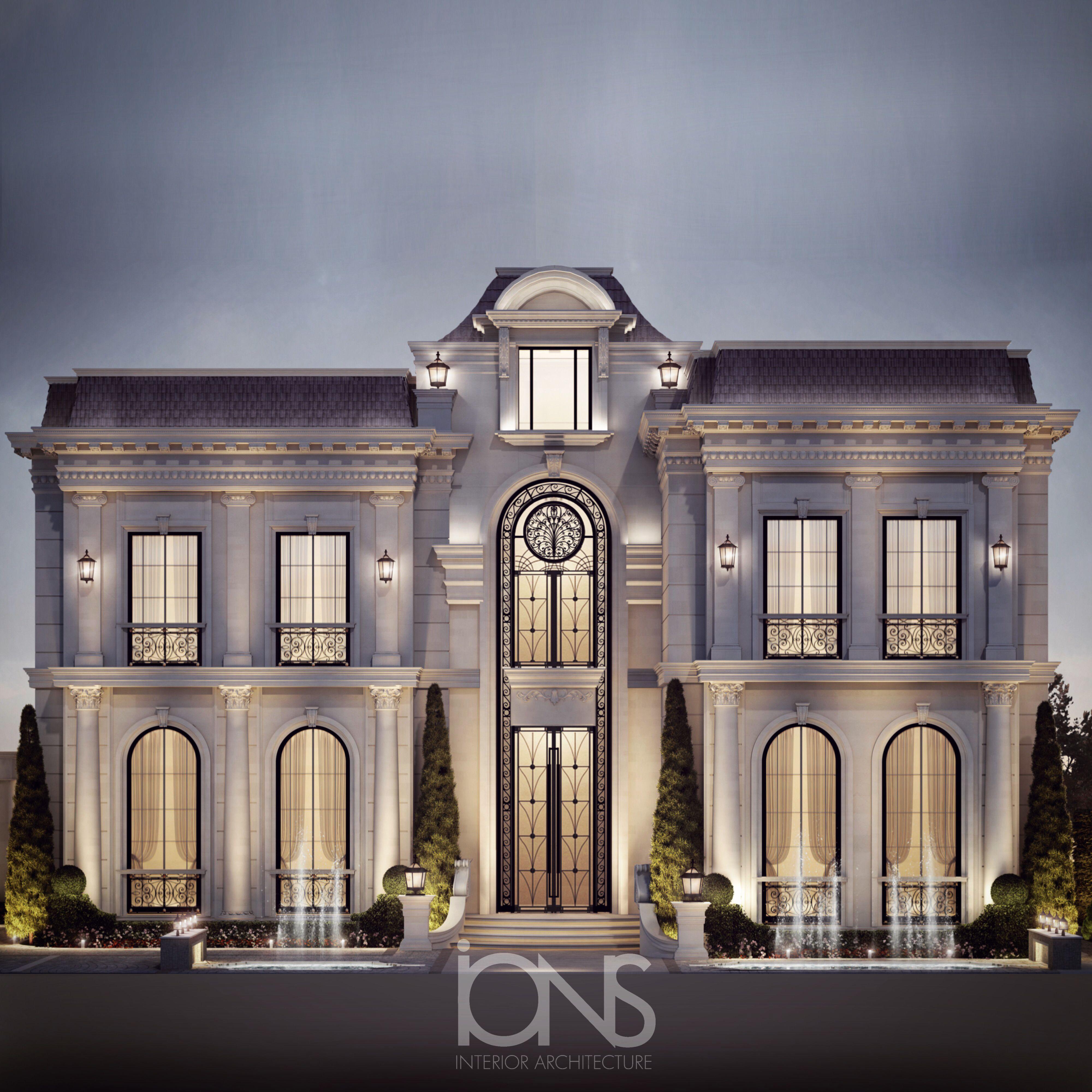 Ions Design Regency Architecture House Design Regency Architecture Classic House Design Classic House Exterior