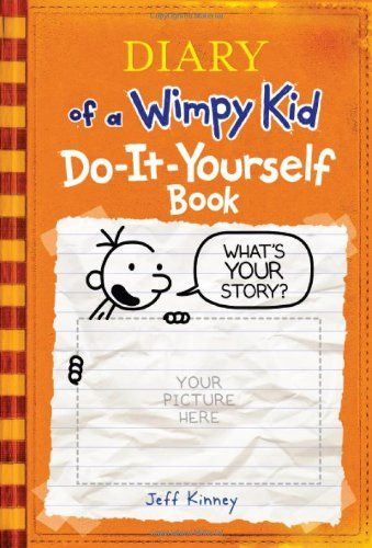 New the wimpy kid do it yourself book kinney jeff wimpy diary of a wimpy kid do it yourself book solutioingenieria Image collections