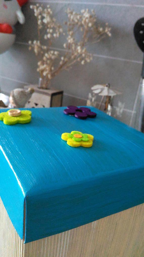 Aquamarine treasure chest