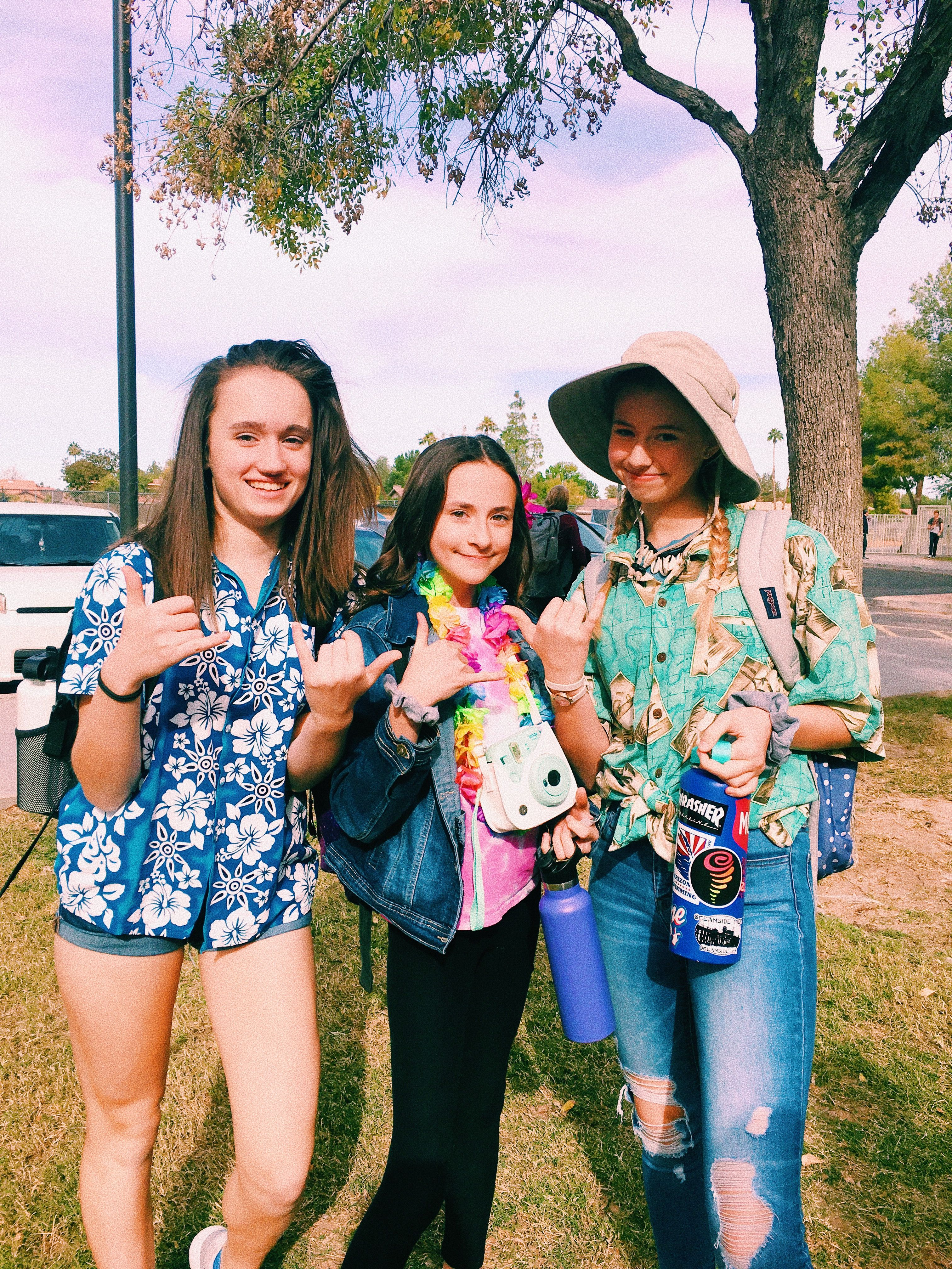Tropical Outfit Spirit Week Spirit week outfits, School