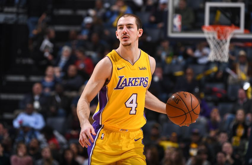 Alex Caruso In 2020 Nba Players Los Angeles Lakers Lakers