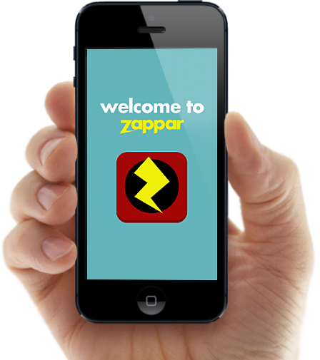 Download the Zappar augmented reality app for iPhone or