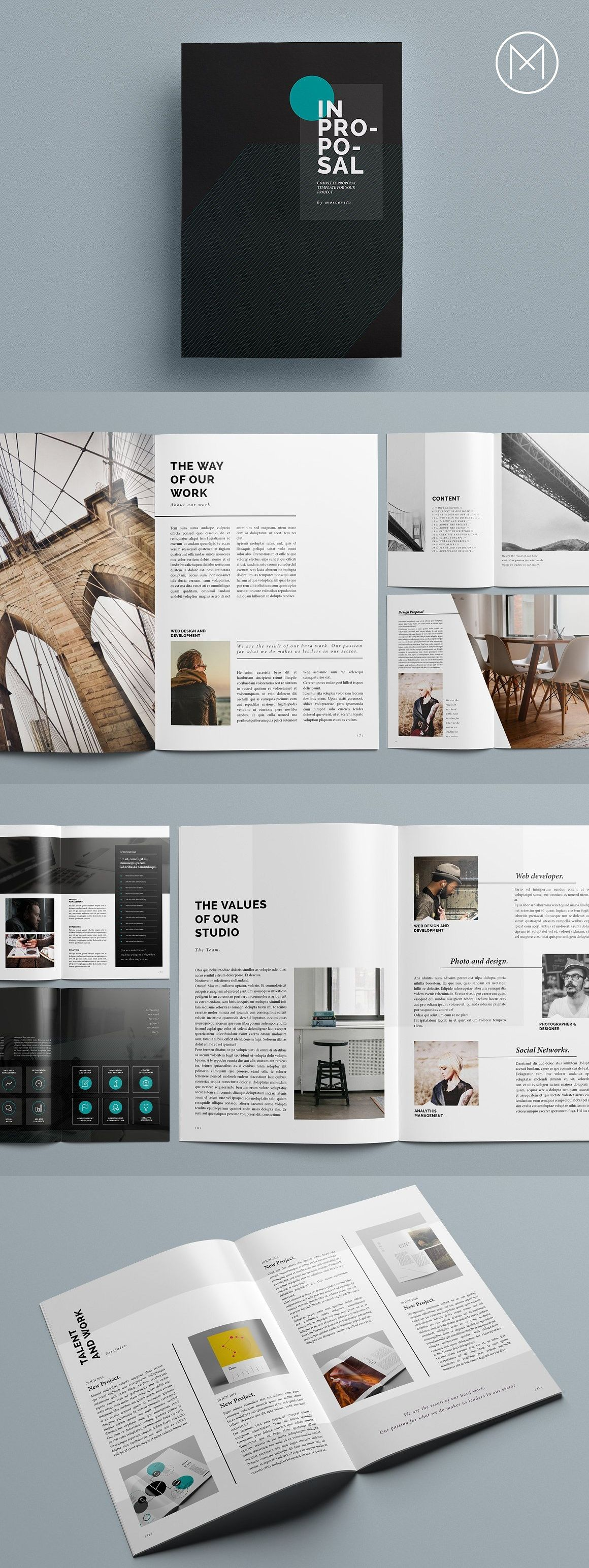 design indesign ビジネス パンフ pinterest layout design