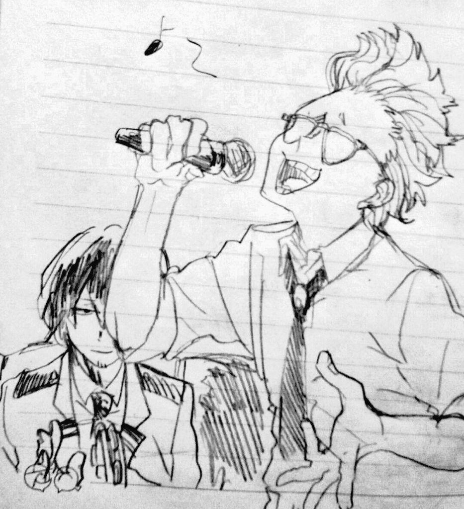 Present Mic & Aizawa Shota