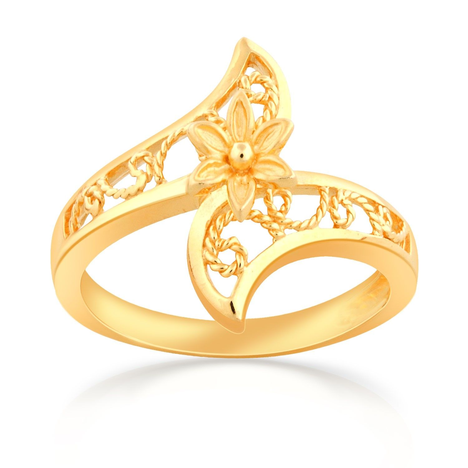 buy malabar gold ring online with 22 kt gold purity which is 916 bis hallmark gold certified easy exchange 14 days return policy