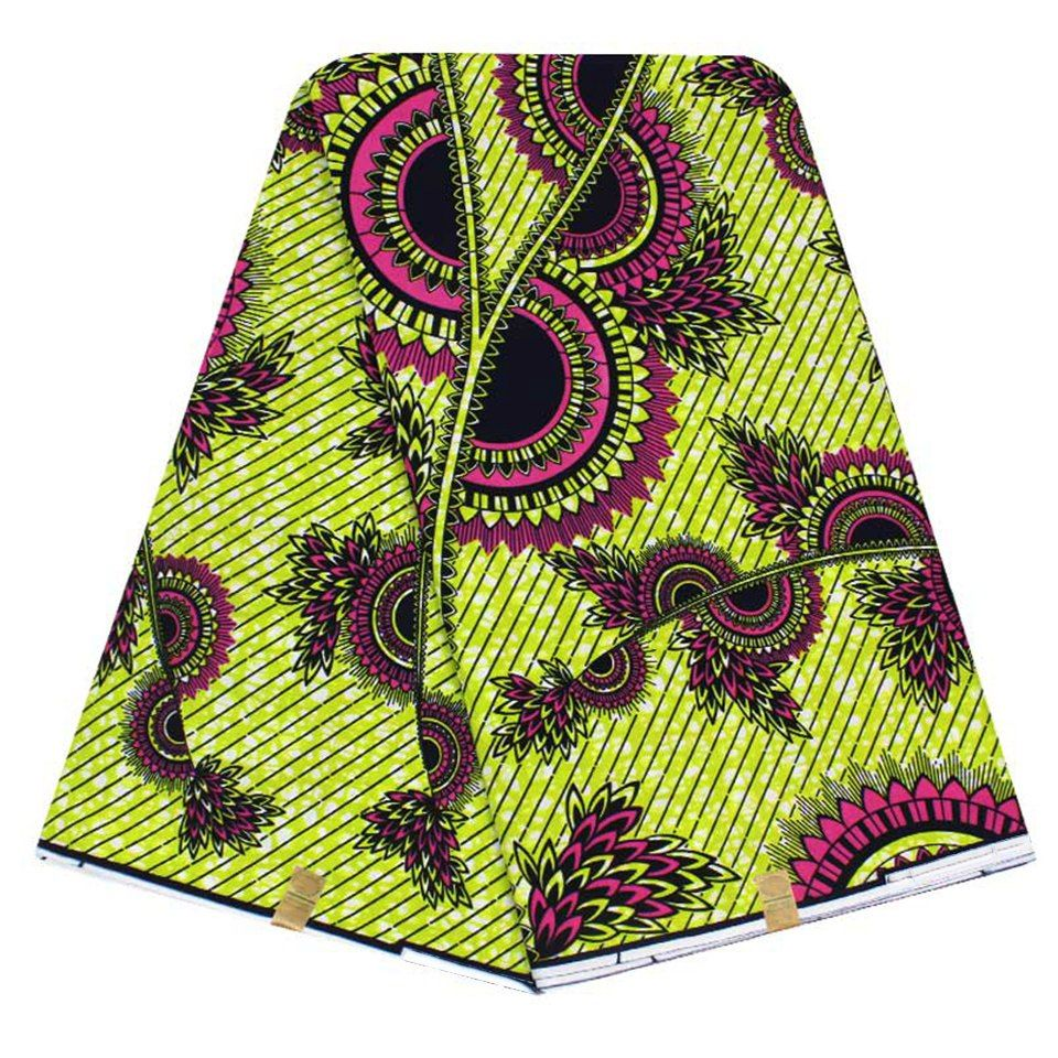 EXCLUSIVE AFRICAN WAX FABRIC  SPECIAL PRICE £20 6 Yards