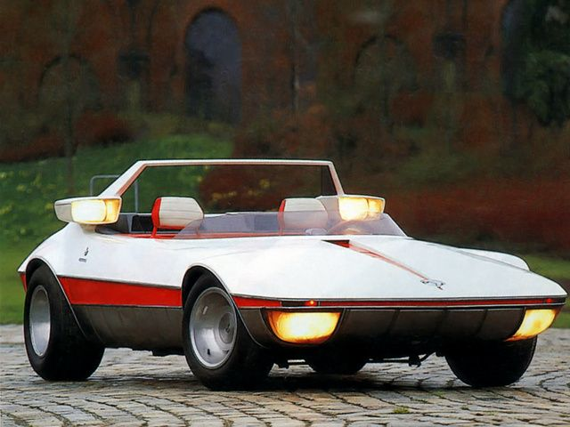 Autobianchi A112 Runabout Concept Bertone 1969 He Never Made