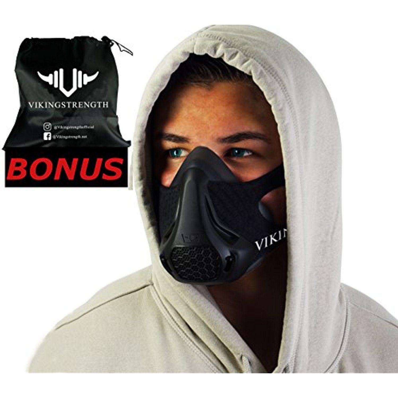 Vikingstrength Fitness Training Mask Workout Mask for