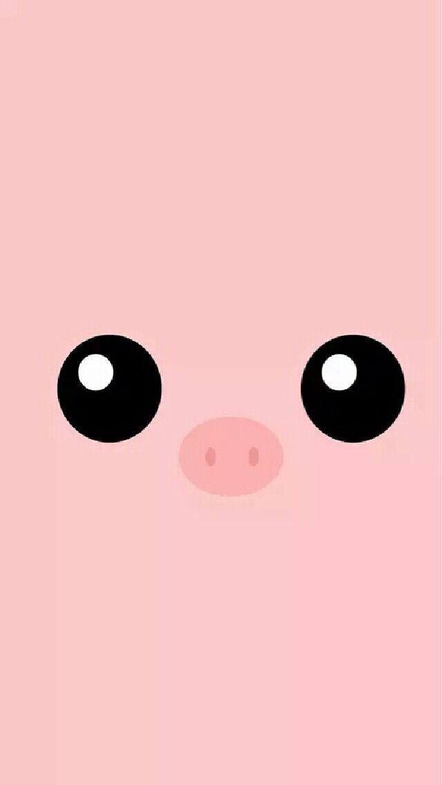 cute pig screensaver wallpaper phone wallpapers in 2018