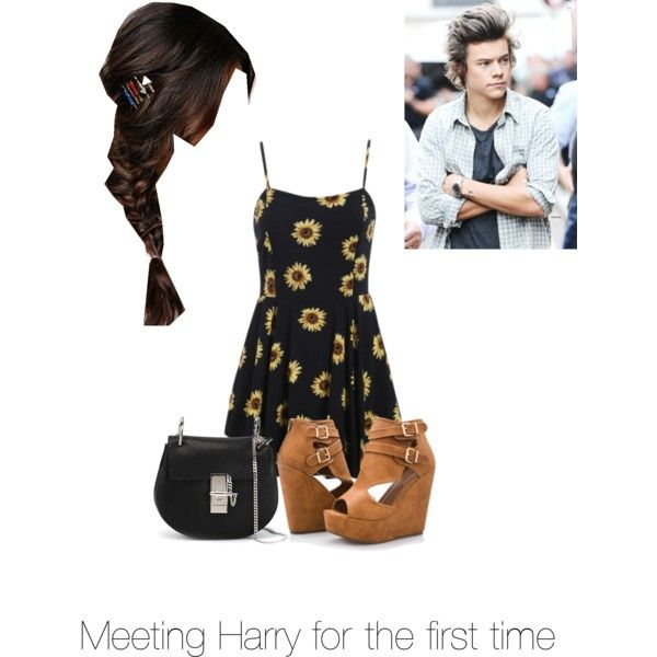 Meeting Harry for the First time by kaylee-schroeder on Polyvore featuring polyvore, fashion, style, Ashley Stewart, Chloé and With Love From CA