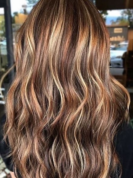 Highlights And Lowlights Brown Hair Balayage Brunette Hair Color Hair Highlights And Lowlights