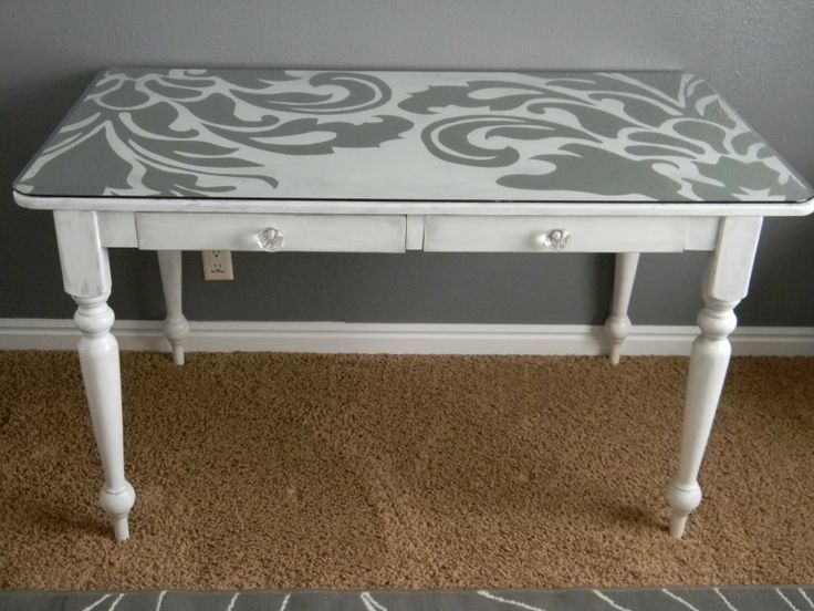 Painted Desks eight painted desk ideas | desks, paint furniture and diy design