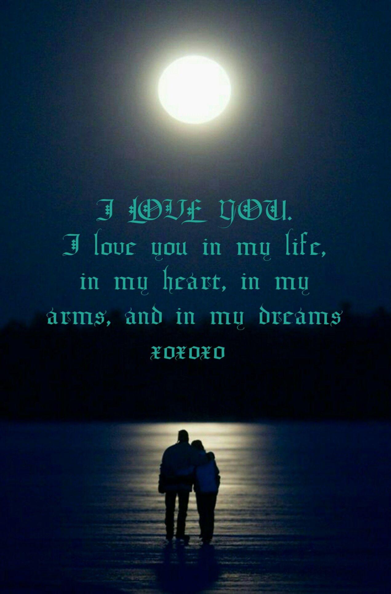 I love you   Sweet dreams my love, I love you baby, Love you