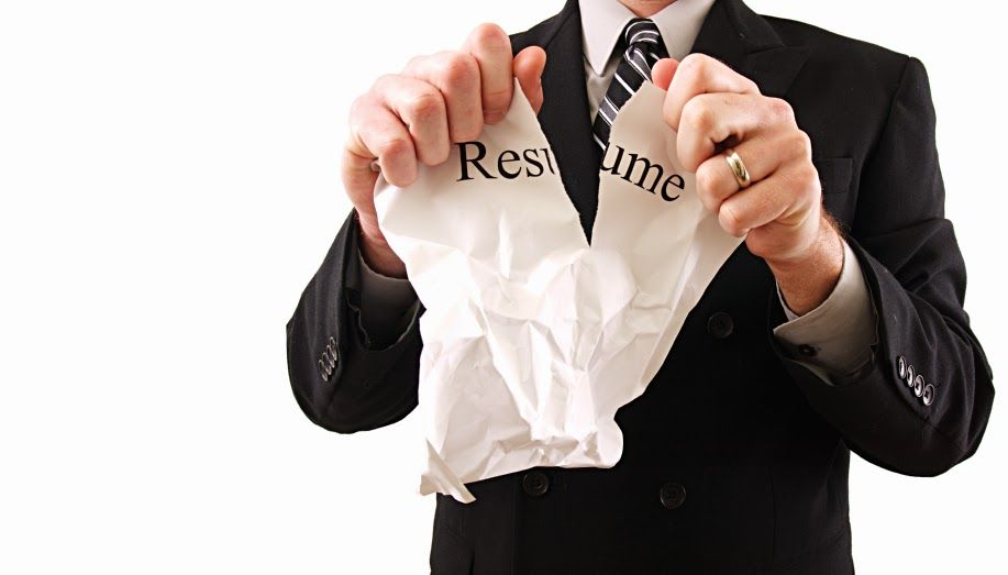 Your resume is your professional biography, the document where you - resume mistakes