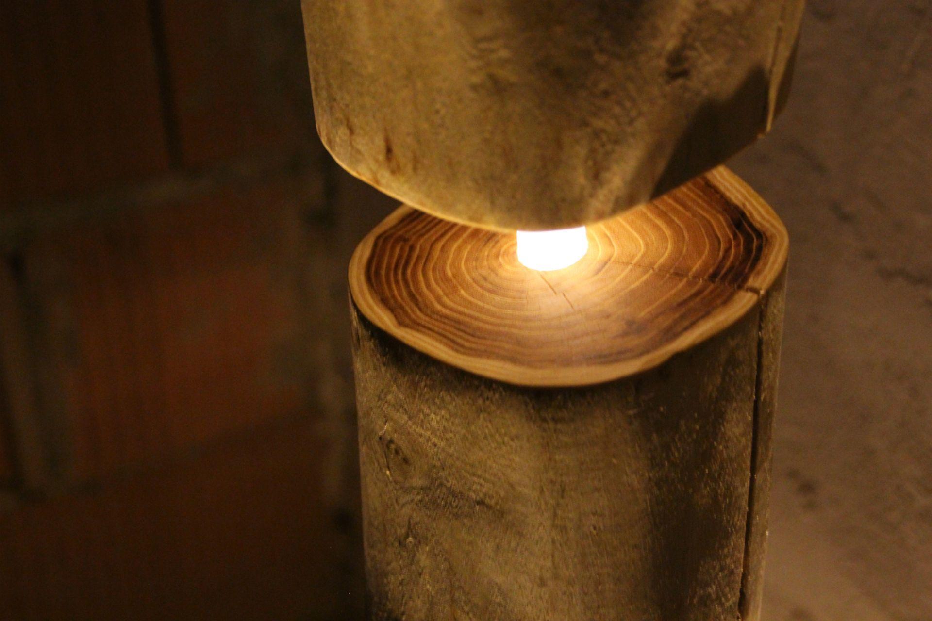 Hard Wood Floor Lamp - TheShiningWood No1