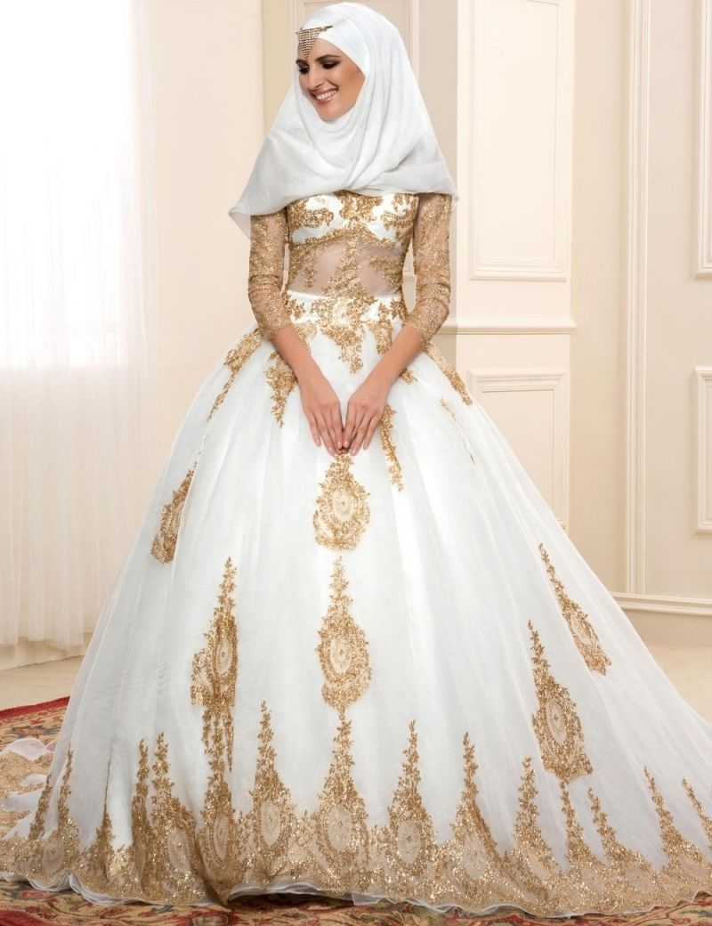 5 Main Muslim Wedding Dresses Trends for 2018 | Pinterest | Muslim ...