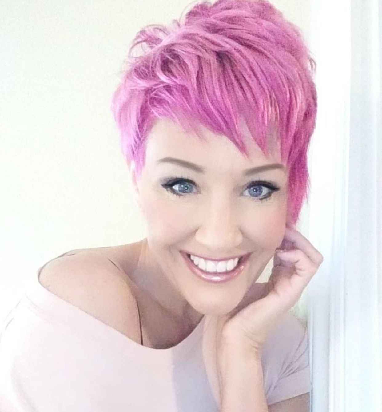 Pin by krysta dennis on hair me now pinterest pink hair and hair