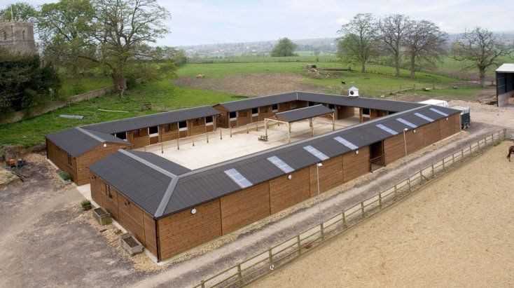 Courtyard Stables For Horses