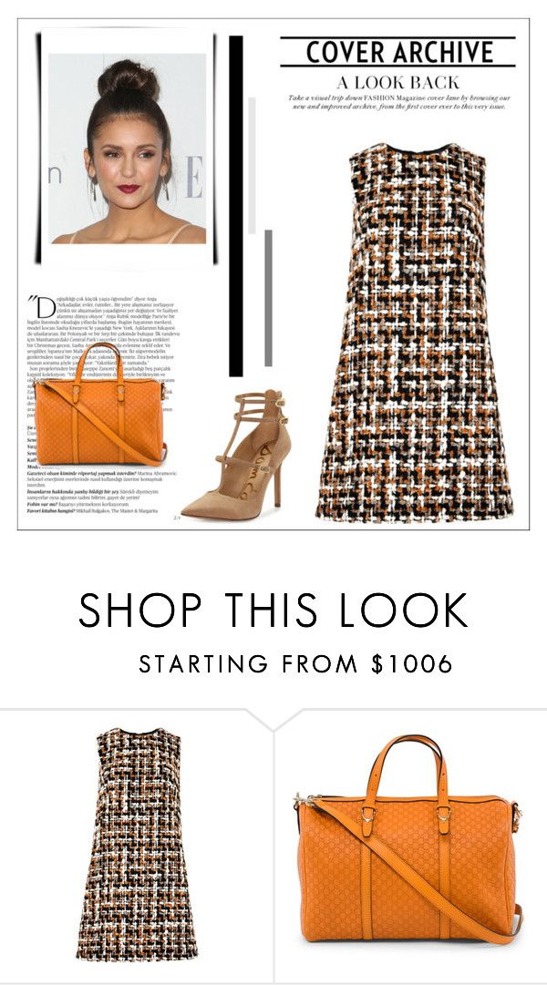 """53"" by jassemin ❤ liked on Polyvore featuring Dolce&Gabbana, Gucci, Sam Edelman and Balmain"