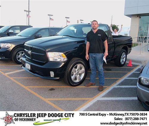 Chrysler Jeep Dodge City Of Mckinney Would Like To Say Congratulations To Hank Hefner On The 2013 Dodge Ram With Images Dodge City Jeep Dodge Dodge