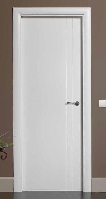 Puertas Lacadas  Puerta lacada B501 puertas Pinterest Puertas - puertas interiores modernas