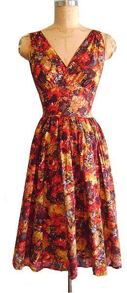 TRASHY DIVA Doris Dress in Warm Watercolors sz 2 NWOT #TrashyDiva