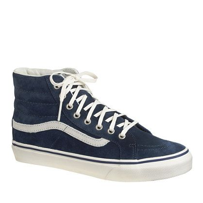 be9fb801899a vans high tops navy Sale