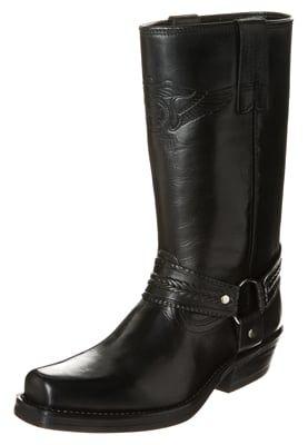 Cowboy/Biker boots - negro