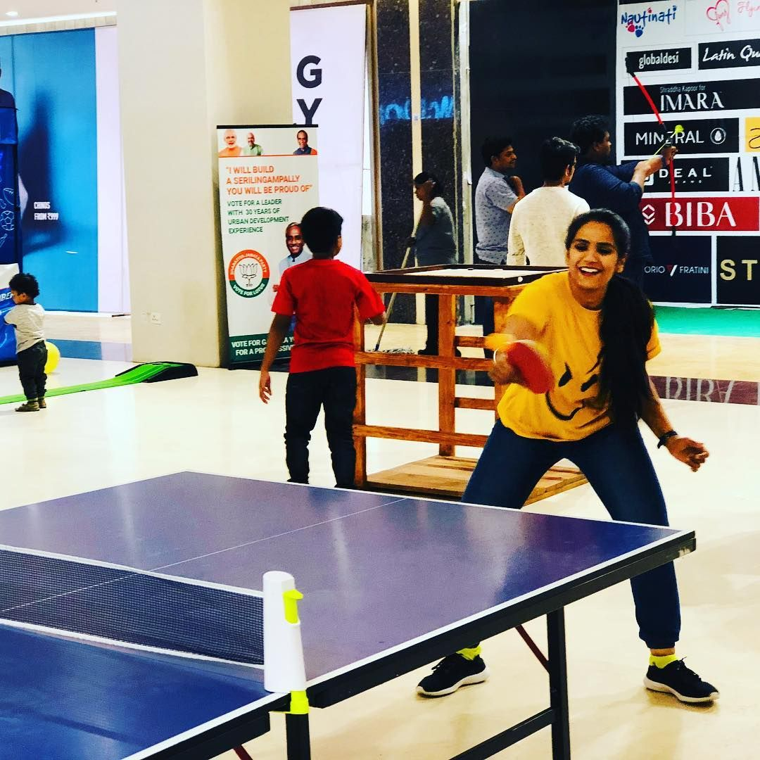 Caught in action. #decathlon #tabletennis #couplegoals #games