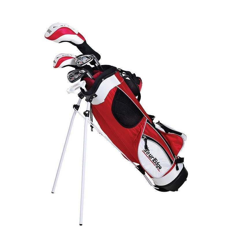 Boys Age 9 12 Tour Edge Ht Max J Junior Right Hand 4x1 Golf Club Bag Set Products Junior Golf Clubs Golf Club Sets Golf Bags
