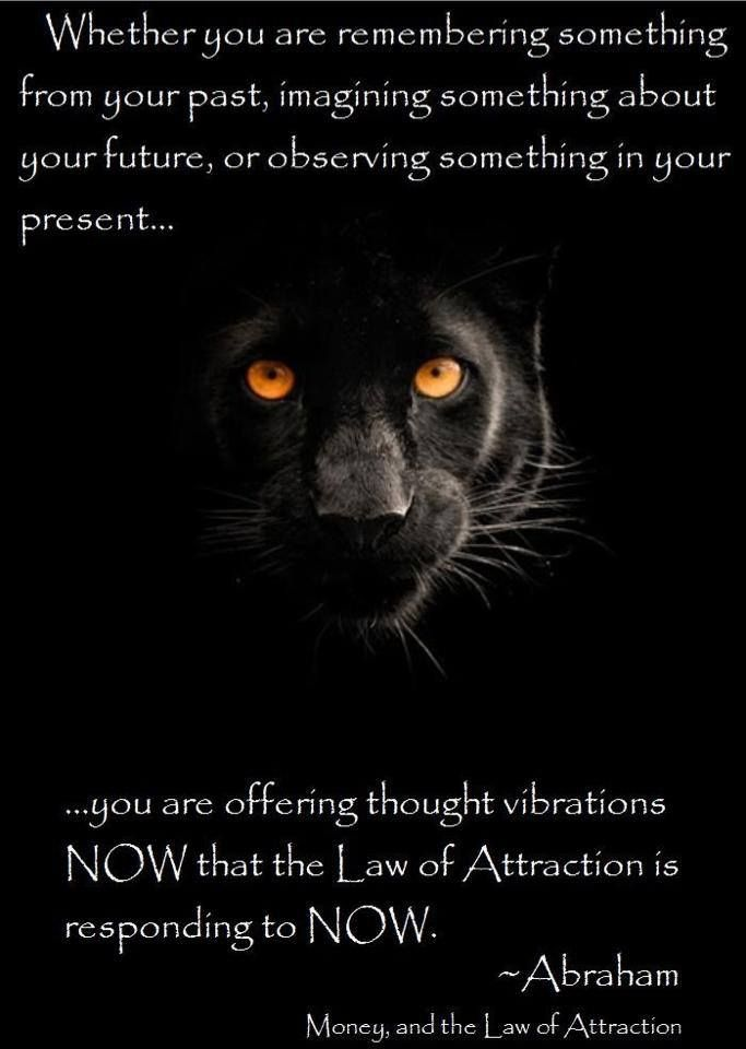 The Law of Attraction...