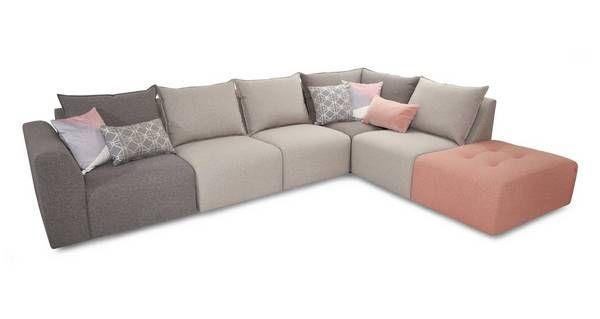 About the Zania: Left Hand Facing Arm Corner Sofa | Corner ...