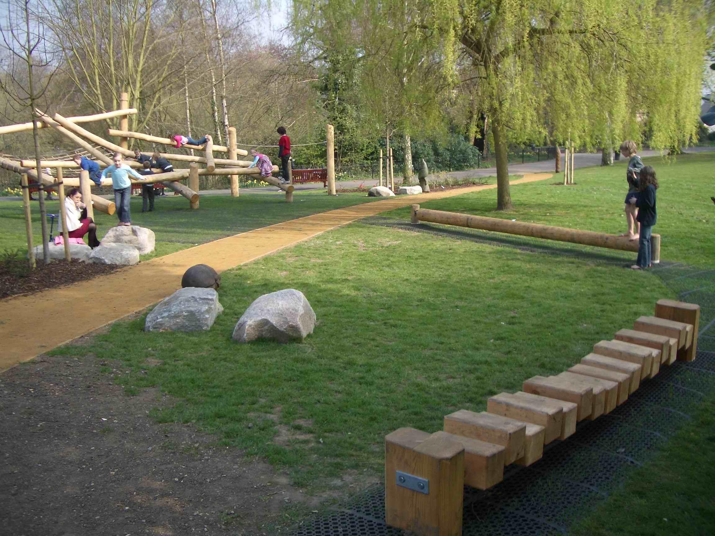 image detail for -natural play space, waterlow park, highgate, Gartengerate ideen