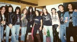 The Ramones y Los Violadores