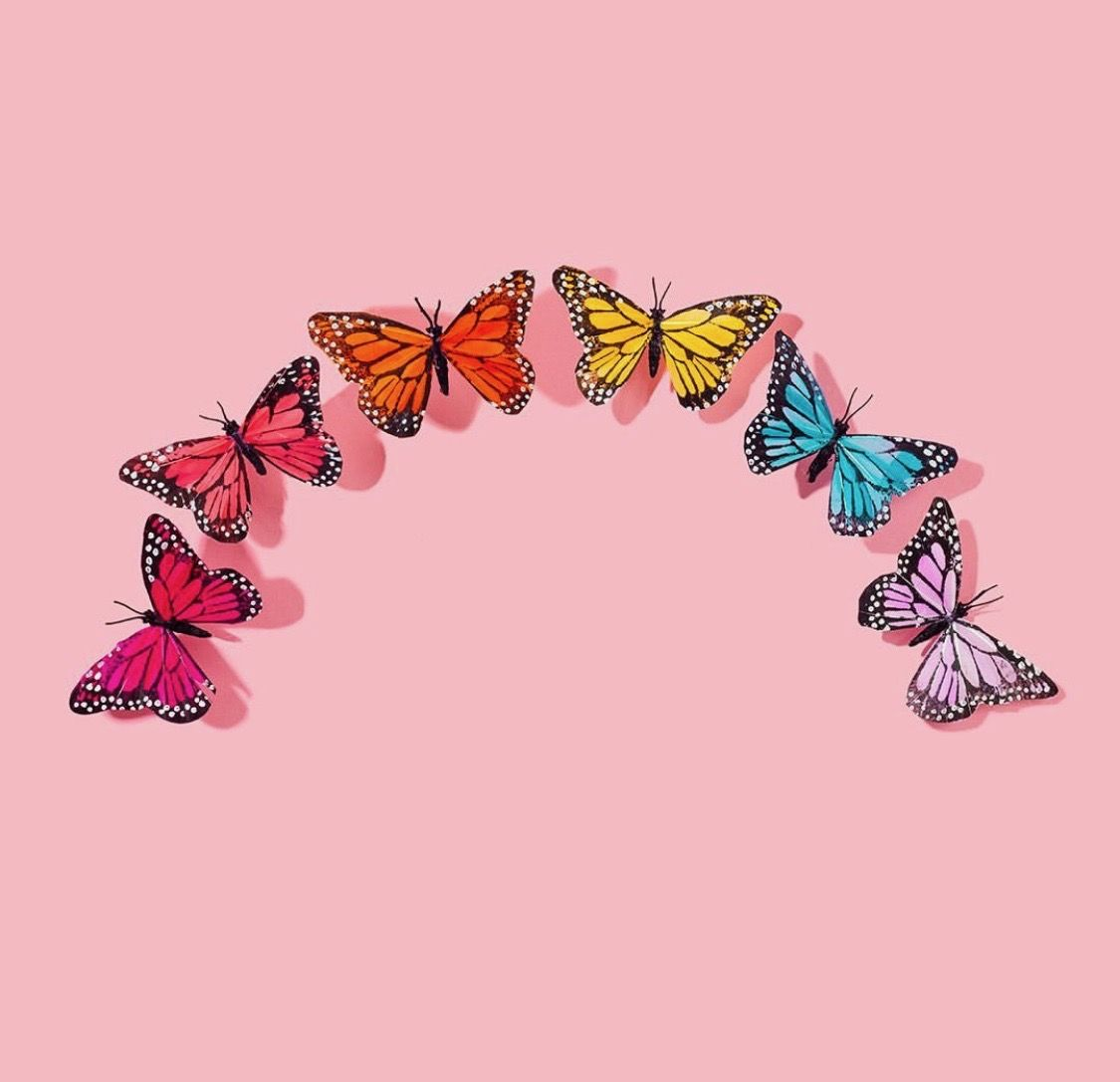 Wallpaper Butterfly Aesthetic Tumblr - Download Free Mock-up