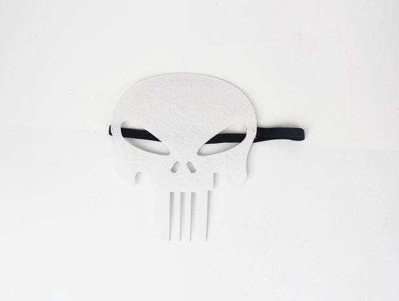 Punisher Mask, Hero Mask, Children Mask, Kids Mask, Party Mask