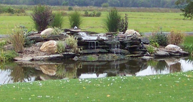 pond kits for backyards backyard waterfalls with ponds