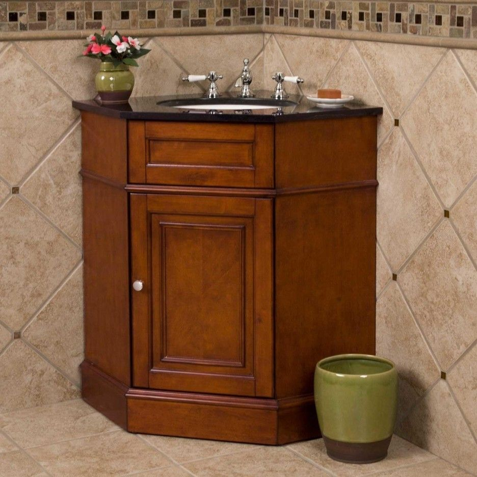 rustic corner cabinets for bath vanities - Google Search